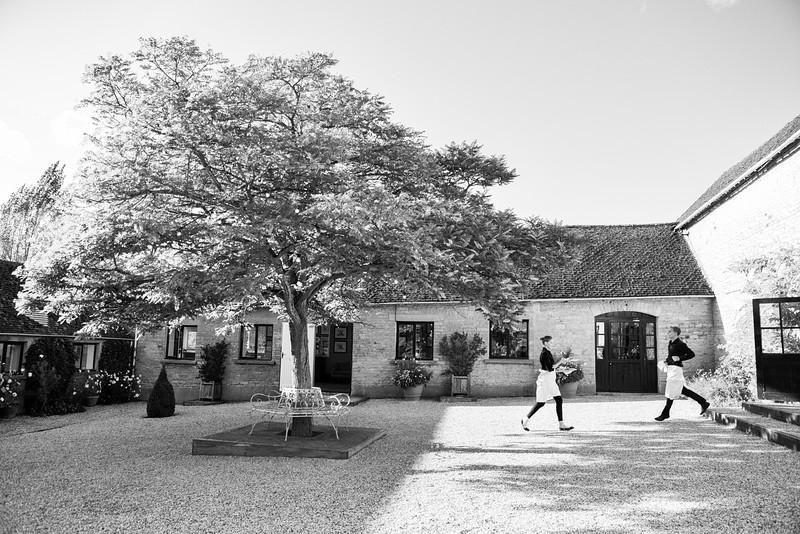 Merriscourt courtyard