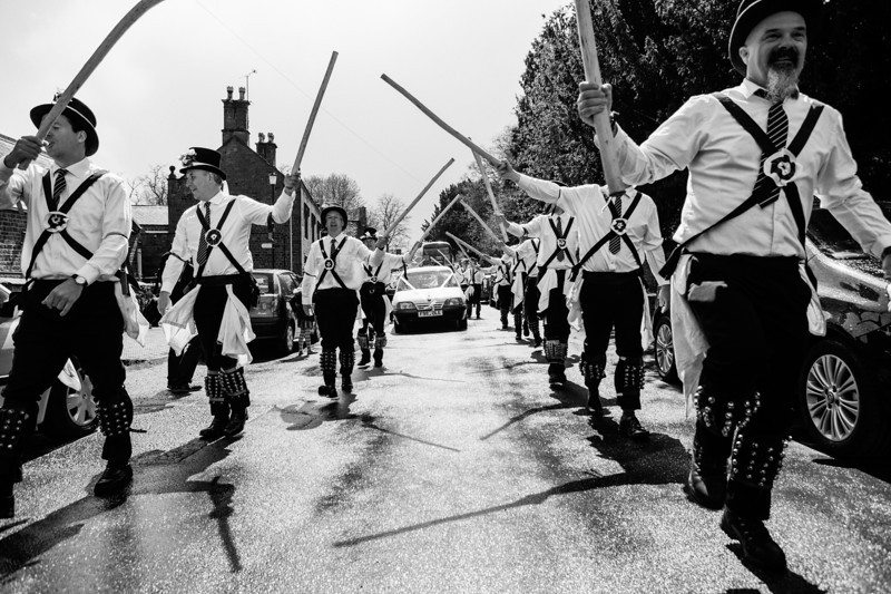 Morris dancers at Adderbury