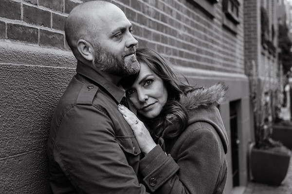 Amber & Chris's South End Engagement Session