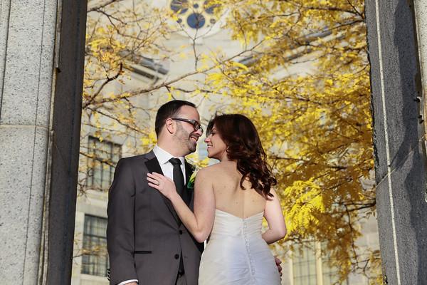 Emily & Ira's Fall Liberty Hotel Wedding