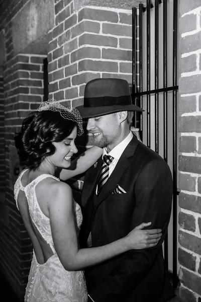 Marie & Brendan's Snowy Liberty Hotel Wedding