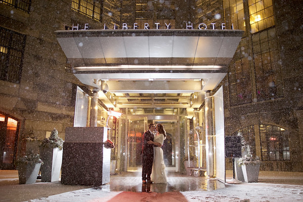 Michelle & Chris' Liberty Hotel Wedding