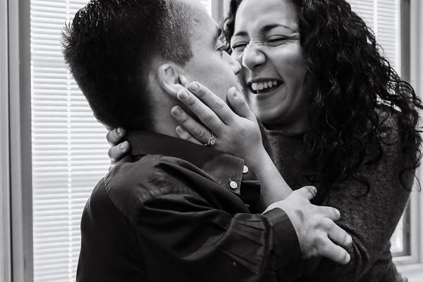 Sofiya & Clinton's Romantic Long Island Engagement Session