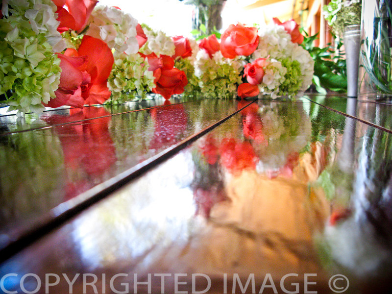 I set my Canon G9 on the table when I took this shot.