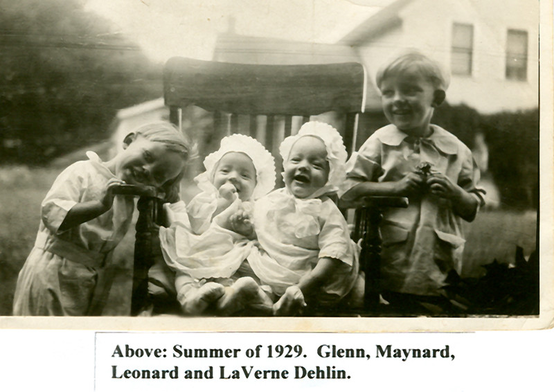 1 255 15 04 1929 Glenn, Maynard, Leonard & LaVerne (1)