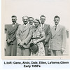1 276b 15 27 1950's early Dehlin Family 4 sons