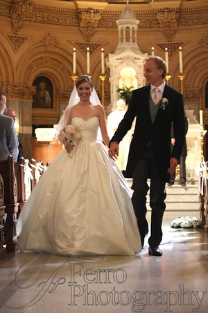 Christina and Jukka, The Ceremony, Church of Saint Francis Xavier, New York