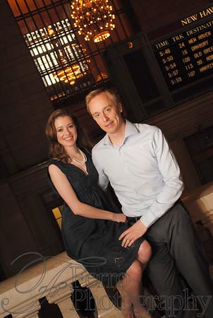 Christina and Jukka's Engagement Portraits