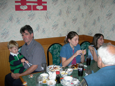 Rehearsal Dinner - Jim and his kids - SS