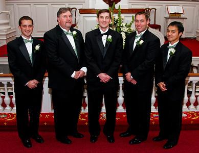 Groomsmen Portraits Before Wedding