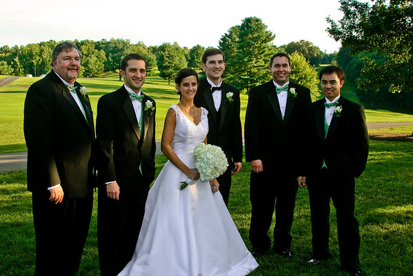 Wedding Party Formals at Boonsboro