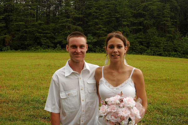 Bridesmaids and Groomsmen After Wedding