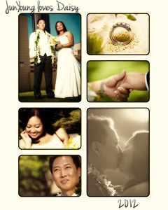 daisy collage_Daisy and JunYoung wedding-Tamalia Park-Bridal Boutique-Honolulu-Hawaii-July 2012