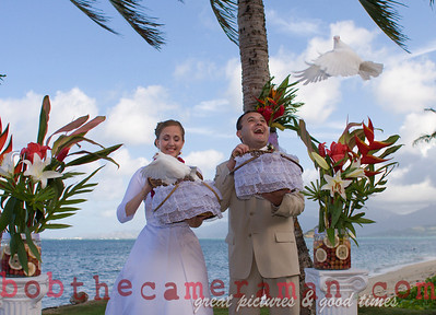 Wedding in Hauula,