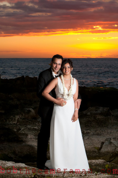 Bob The Camera Man is your man for your vow renewal on Oahu at Ko Olina and at other beautiful locations around the island.