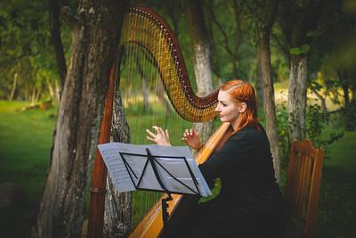 Alicja the harp artist