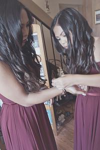 CF Photography Studios_Hunter-Toscano Wedding, Bridal Prep 0024