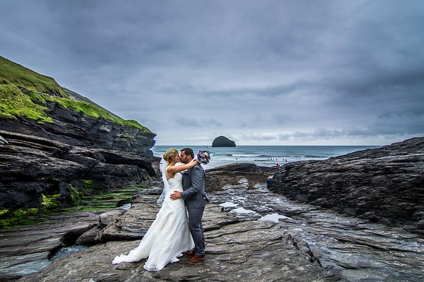 Josh and Emily St Materianas Church Tintagel July