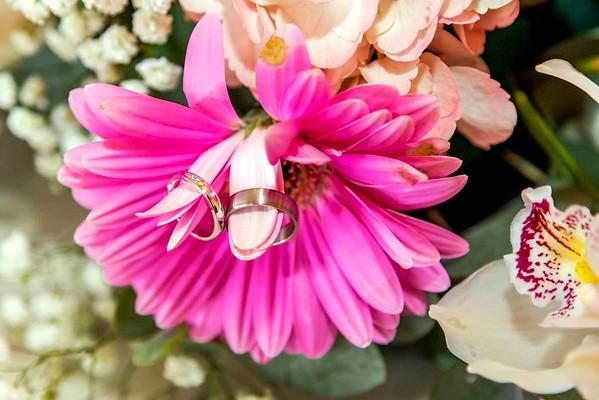 bride and grooms wedding rings