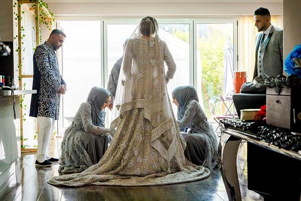 muslim bridal preparation