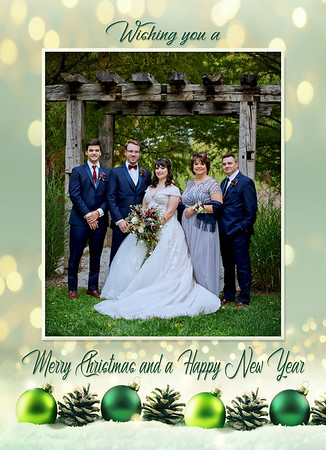 front christmas card