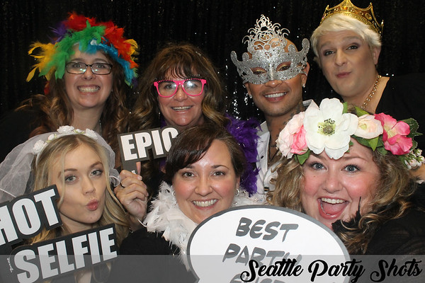 01-13-18/1-14-18 Seattle Party Shots @ Seattle Wedding Show