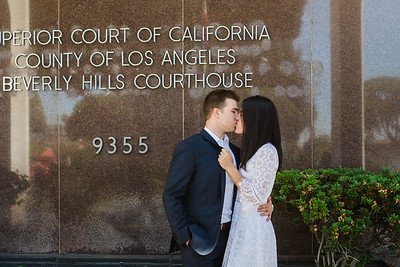 061417 - Gaby & Ned Courthouse Wedding