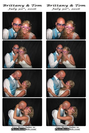 07/30/2016 Britanny & Tom Wedding (PhotoStrips)