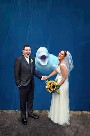 10-7-18 Samantha & Brian | Mystic Aquarium