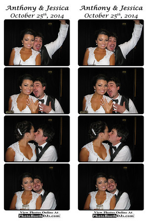 10/25/2014 Anthony & Jessica Wedding (PhotoStrips)