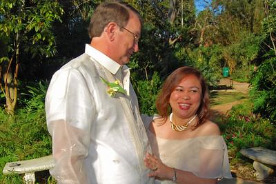 1107 Bob and Joy Wedding at Ormond Gardens