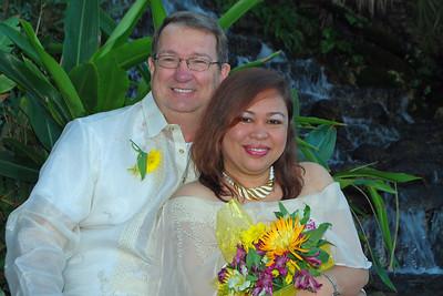 1136 Bob and Joy Wedding at Ormond Gardens