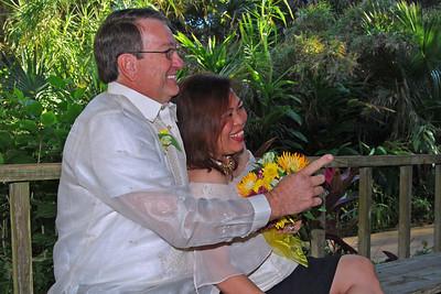 1118 Bob and Joy Wedding at Ormond Gardens