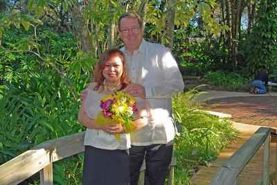 1119 Bob and Joy Wedding at Ormond Gardens