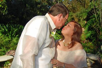 1105 Bob and Joy Wedding at Ormond Gardens