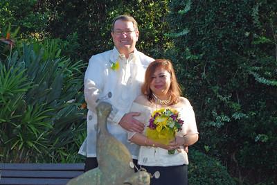1144 Bob and Joy Wedding at Ormond Gardens