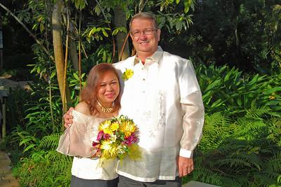 1110 Bob and Joy Wedding at Ormond Gardens