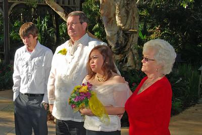 1098 Bob and Joy Wedding at Ormond Gardens