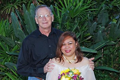 1145 Bob and Joy Wedding at Ormond Gardens