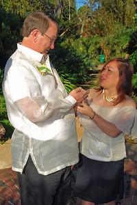 1103 Bob and Joy Wedding at Ormond Gardens