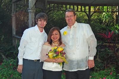 1113 Bob and Joy Wedding at Ormond Gardens
