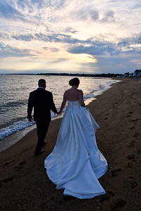 8-11-17 Kelly & Davin Madison Beach Hotel