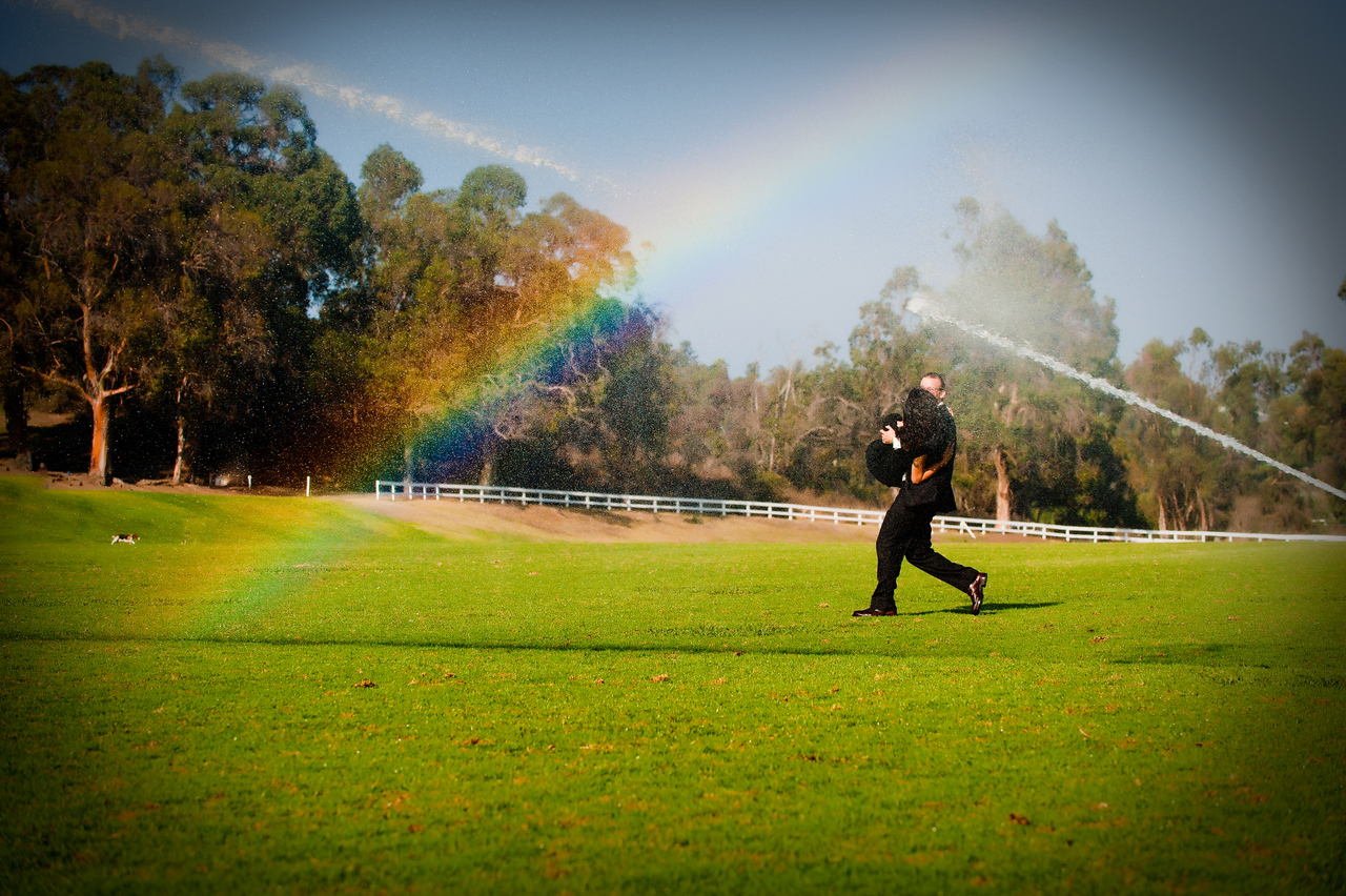Rainbow wedding pictures (engagement)