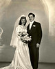 19470209 DeAngelis-Izzo Wedding Portraits : 1947-2-9 Carolyn & Albert Our Wedding Portraits