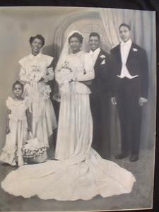 19491008 Quarles-Hall Wedding Portrait