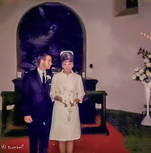 1967 Chuck's & Lisa's Wedding