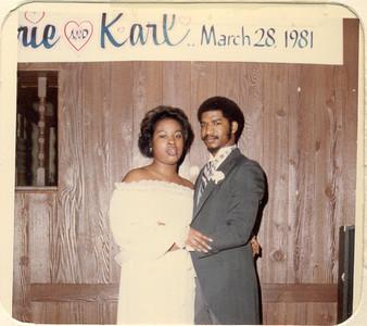 1981-3-28 Valerie and Karl 01 Parker-Hall Wedding