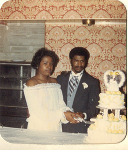 1981-3-28 Valerie and Karl 16 Parker-Hall Wedding
