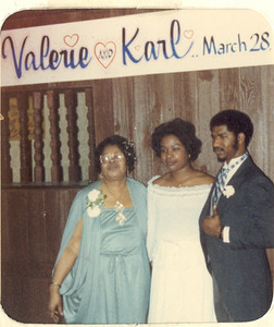 1981-3-28 Valerie and Karl 21 Parker-Hall Wedding