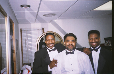 1996-6-9 Keith,Cecil and Steve - Before Cecil & Vicky's Wedding